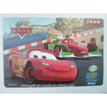 Customized Cartoon Table Decorated PP Placemat Printing Desk Mat
