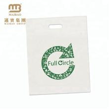 Portador de compra plástico compostável amigável da compra de Eco que empacota 100 sacos biodegradáveis da saca de milho