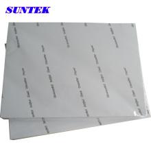 Papel de impresión de transferencia de calor de color oscuro A4 para plástico (STC-T03)