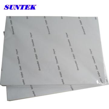 A4 Tamanho jato de tinta Eco solvente cor escura papel de transferência de calor