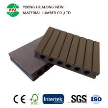 Precio de fábrica impermeabiliza el suelo de WPC del precio (M42)