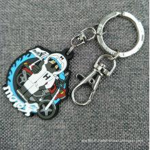 Porte-clés / porte-clés en 2D / 3D caoutchouté par PVC