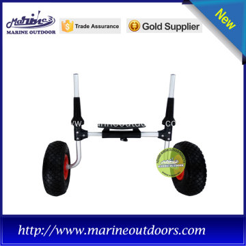 light weight kayak cart with two no-flat PU tires
