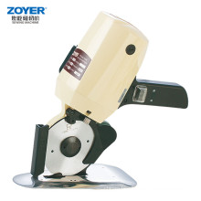 Professional Design Fabric Tape Automatic Textile Round Knife Cloth Cutting Machine