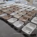 KKR artificial stone solid surface undermount kitchen sink