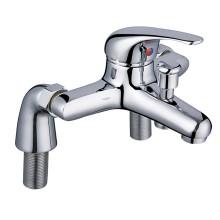 Brass Bathtub Faucet with Pillar Union (Single Handle)