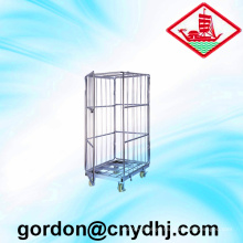 Wholesale Folding Roll Storage Cart with Door Yd-L004