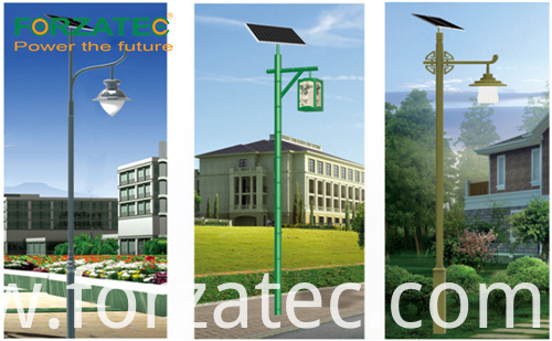 li-battery solar led light