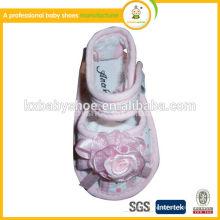 Sandálias bonitas sapatos de bebê 2015 e bonitas sandálias para bebé