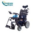 Fauteuil roulant électrique pliable en aluminium léger et portable