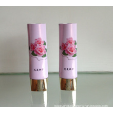 Beautiful Aluminium Plastic Tube with Flowers