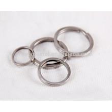 3pcs titanio llavero llaveros accesorio personal proceso de pulido