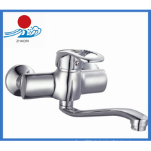 Wand-Mischbatterie Messing Wasser Wasserhahn (ZR21703)