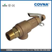 Хороший качественный 3/4 латунный воздушный компрессорный предохранительный клапан с ручкой