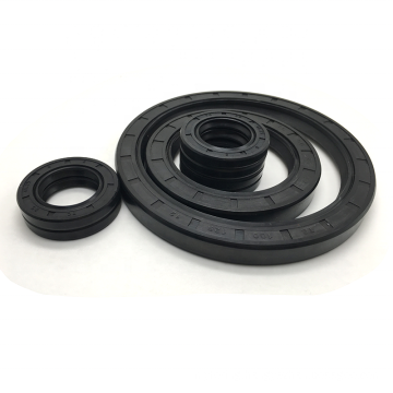 China Factory NBR FKM Skeleton TC Oil Seal Double Lips Oil Seal Rubber Oil Seal Spring