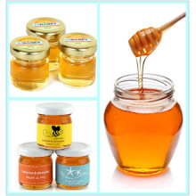 Different Kinds Glass Honey Jar Glassware