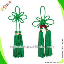 borla colorida con nudo chino / borla de nudo chino / borla de nudo chino