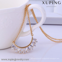 41721-Xuping fashionable jewellery pendant necklaces Crystal Wedding Jewelry necklace