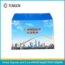 Enveloppe Express en carton avec pochette transparente pour documents