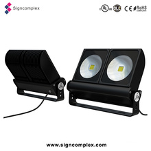 Flexible Modular COB 200W LED Flood Light with UL Dlc CE RoHS