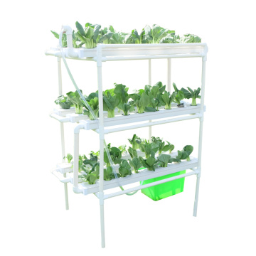 Plastic NFT gully hydroponic growing systems
