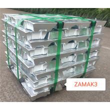 Цинк литья под давлением сплава слитка ZAMAK3