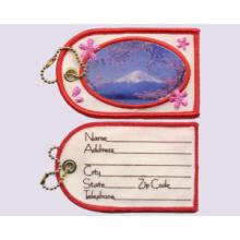 Mount FUJI- Broderie + sublimation, étiquette de bagage