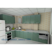 Glossy Small Kitchen Cabinets for Retail (colorful)