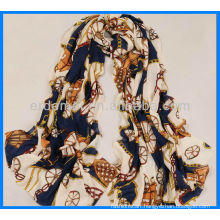 Good quality custom cheap satin head scarf