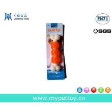Nylon Knochen mit TPR Pet Chew Spielzeug