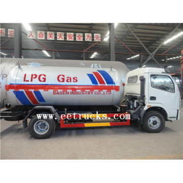 5000L Mini LPG Bobtail Gas Tank Trucks