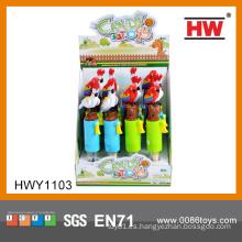 Juguete divertido del caramelo del juguete del loro de la historieta los juguetes más últimos para los cabritos