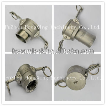 stainless steel female Quick camlock coupling for hose pipe