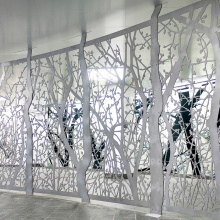 Laser Cut Steel Privacy Screens