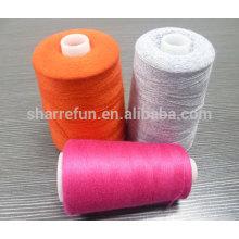 Hilo de lana 100% de lana de las ovejas de la fábrica 2 / 24NM para hacer punto