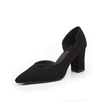 Frauen Sexy Chunky High Heel Pumps