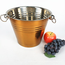 Cubeta de gelo de aço inoxidável do fabricante Buckete / Red Bull Ice