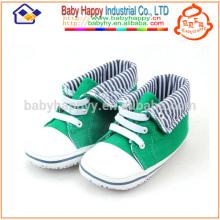 Низкая цена детская обувь зеленый casual обувь холст обувь toddler детская ткань
