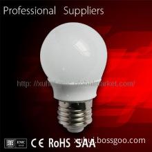 new product  E27  pure 3w cod led light led e11 base bulb