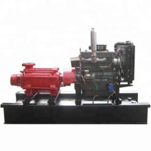 Diesel engine high pressure multistage pump