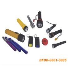Hochwertige Taschenlampe für den Einsatz im Freien mit (DFOD-0001 ~ 0005)