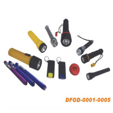 High Quality Flashlight for Outdoor Home Using (DFOD-0001~0005)