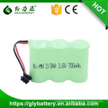 2/3AA 3.6V 800mah/700mah High Quality NEW NEW Phone Battery For KXA36A KX-A36A