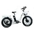 Triciclo eléctrico de neumáticos gordos XY-Trio Deluxe para adultos