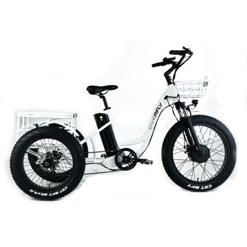 Tricycle électrique à gros pneus XY-Trio Deluxe pour adultes