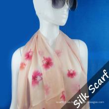 Bufanda larga diseño personalizado con alta calidad