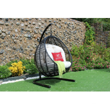 Top Selling Outdoor Patio Garden Wicker Swing Chair PE Rattan Hammock