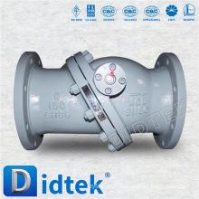 Válvula de retenção de flange de alta pressão Didtek Stainless Steel
