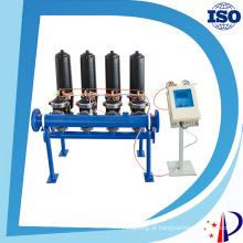 Fabricante hidráulico do filtro de água dos discos plásticos do alojamento preto