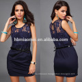 Black Sexy Women Summer Sleeveless Lace Evening Dress Party Cocktail Short Lace Dress